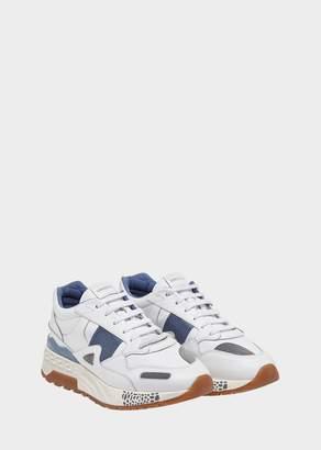 Versace Satin Insert Achilles Sneakers