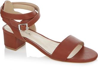 d6e92db71761 Long Tall Sally LTS Lila Strappy Block Heel Sandal