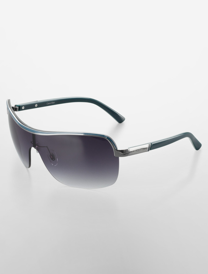 Calvin Klein Shield Style Sunglasses
