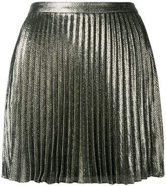 Saint Laurent short pleated skirt