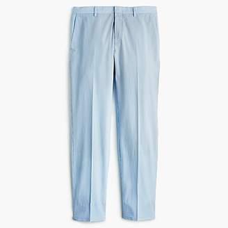 J.Crew Ludlow Slim-fit unstructured suit pant in blue seersucker