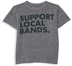 Chaser Little Boy's & Boy's Support Local Bands Tee