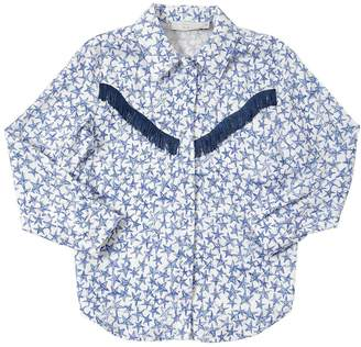 Stella McCartney Stars Printed Viscose Shirt