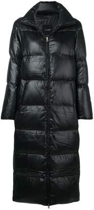 Duvetica padded long coat
