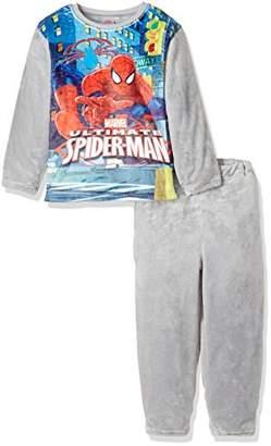 Marvel (マーベル スパイダーマンミンクフリースセット 371118005 グレー 160