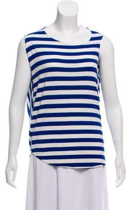 Zero Maria Cornejo Striped Sleeveless Top w/ Tags