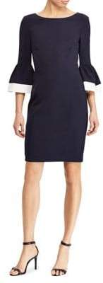 Lauren Ralph Lauren Three-Quarter Sleeve Day Dress