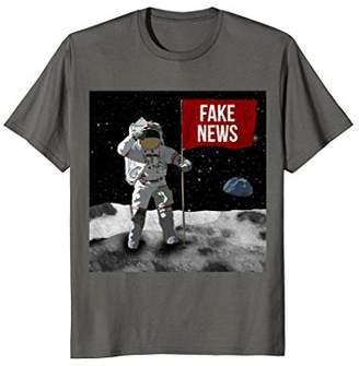 Fake News Shirts - Moon Landing Conspiracy Shirts