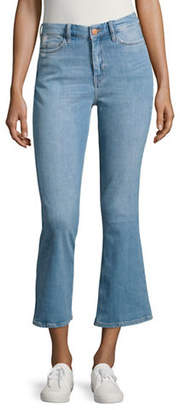 MiH Jeans Marty Crop Flare Jeans