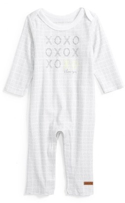 Infant Girl's Robeez Xoxo I Love You Romper $24 thestylecure.com