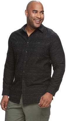 Big & Tall Urban Pipeline Awesomely Soft Regular-Fit Textured Button-Down Shirt