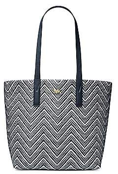 MICHAEL Michael Kors Women's Large Junie Woven Tote