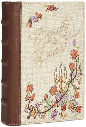 Disney By Danielle Nicole Beauty And The Beast Book Clutch $68 thestylecure.com