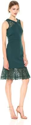 Adrianna Papell Women's Midi Mermaid Dress