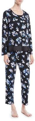 Kate Spade Floral Print Long Pajama Set