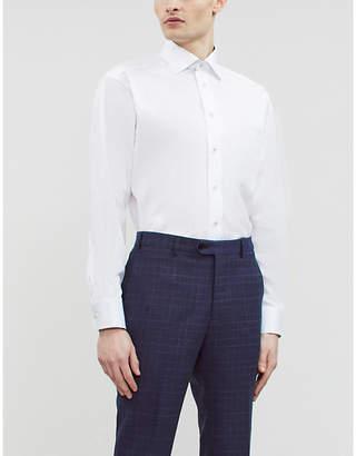 Eton Classic-fit cotton-twill shirt