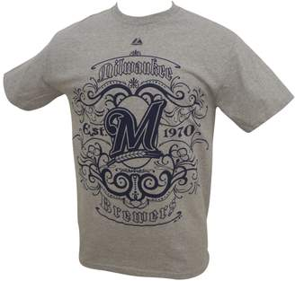 Majestic MLB Milwaukee Brewers Customer Field Idol Shirt