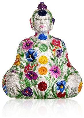 Judith Leiber Couture Chakra Buddha Crystal Minaudiere
