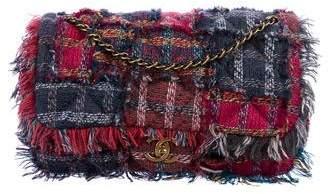 Chanel Patchwork Tweed Flap Bag