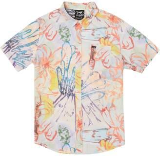 RVCA Vaughn Floral Short-Sleeve Shirt - Men's