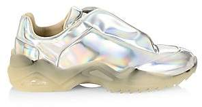 Maison Margiela Men's New Future Holographic Low Top Chunky Sneakers