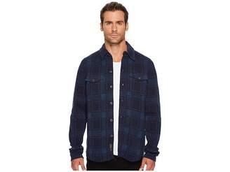 Lucky Brand Plaid Sweater Shirt Men's Sweater