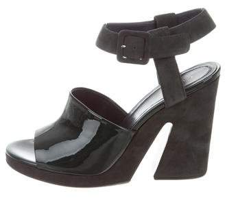 Celine Split Wedge Sandals w/ Tags