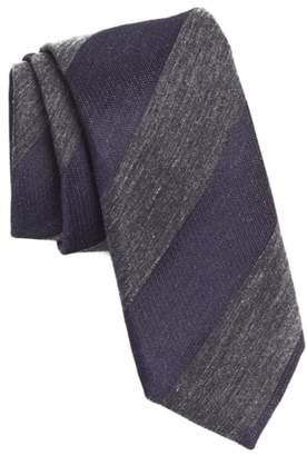 BOSS Stripe Skinny Tie