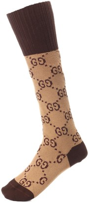 Gucci GG stretch-cotton socks