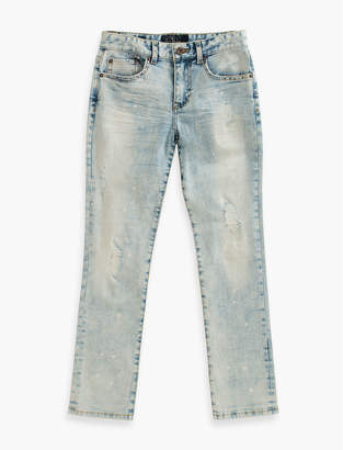 Lucky Brand DENIM PANTS WITH PAINT SPLATTER