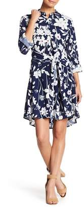 1 STATE 1.State Tie Front Button Down Dress