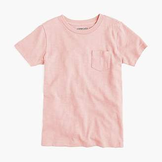 J.Crew Kids' pocket T-shirt in slub cotton