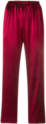 Gianluca Capannolo high-waisted cropped trousers