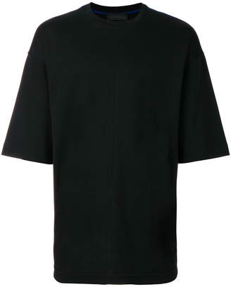 at Farfetch Diesel Black Gold oversized T-shirt