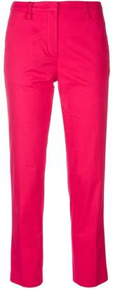 Emporio Armani straight-leg cropped trousers