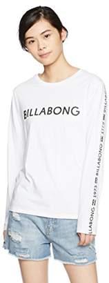 Billabong (ビラボン) - (ビラボン) BILLABONG [ レディース ] 長袖 プリント Tシャツ (袖プリント) 【 AH014-050 / UNITY LOGO TEE 】 ロンT AH014-050 WHT WHT_ホワイト L