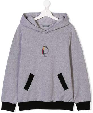 Christian Dior TEEN D is for printed hoodie
