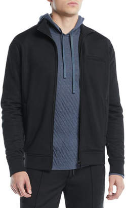 Vince Men's Heat Seal Zip-Front Track Jacket