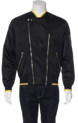 Christian Dior Lightweight Coated Zipped Biker Jacket