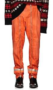 Calvin Klein Men's Cotton Gabardine Firefighter Pants - Orange