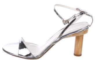 Tibi Sami Metallic Sandals w/ Tags