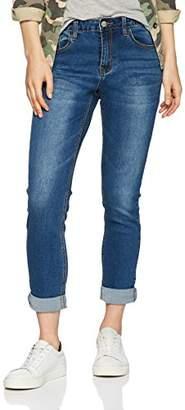 Glamorous Women's Bridie Boyfriend Jeans,(Manufacturer Size: M)