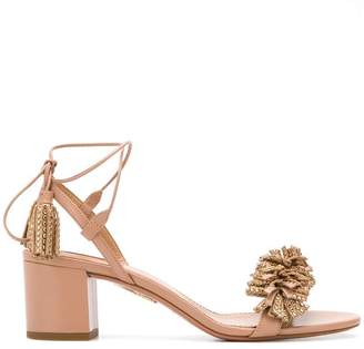 Aquazzura Wild Crystal sandals