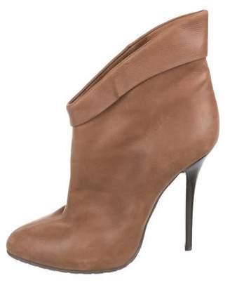 Giuseppe Zanotti Leather Ankle Booties