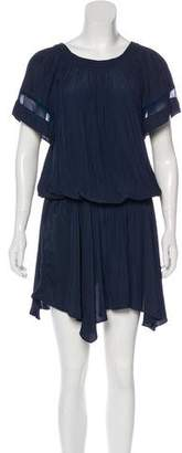 Ramy Brook Pleated Knee-Length Dress