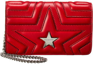Stella McCartney Star Small Flap-Over Crossbody