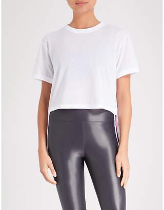 Koral Cruppo asymmetric jersey T-shirt