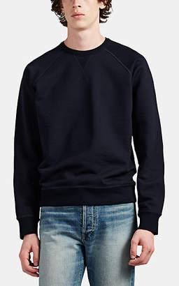 The Row Men's Sal Wool-Blend Sweatshirt - Navy