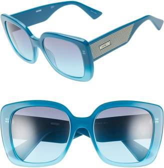 Moschino 54mm Square Sunglasses