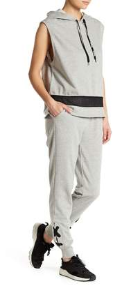 Bebe Lace-Up Joggers